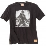 Redfield James Dean T-shirt Czarny Tylko 6XL