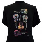 Espionage T230 Hawaiian Guitar Duży T-shirt