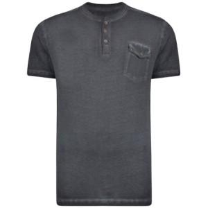 d01d4bb8a1 KAM 5262 T-shirt Czarny Duże Rozmiary