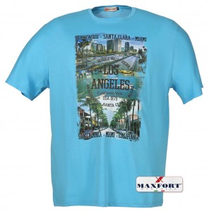Maxfort Los Angeles Duży T-shirt