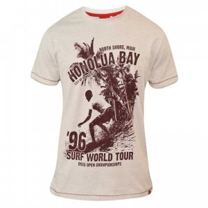 CLAYTON-D555 ''Honolua Bay'' T-shirt Tylko 5XL
