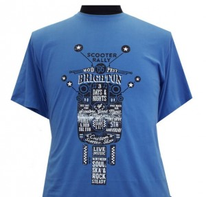 Espionage T227 Brighton Duży T-shirt