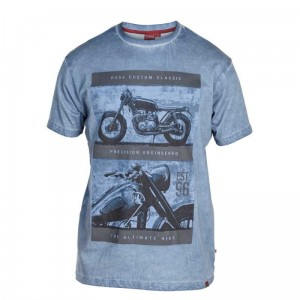 "ROY- D555 ""Motor Bike"" T-shirt Tylko 4XL"