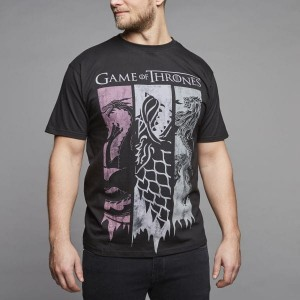 REPLIKA JEANS CPH Game of Thrones Duży T-shirt Męski