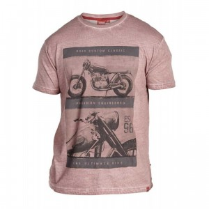 "ROY- D555 ""Motor Bike"" T-shirt Tylko 5XL"
