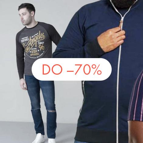 Koszule męskie duże rozmiary XXL dla dużych, puszystych