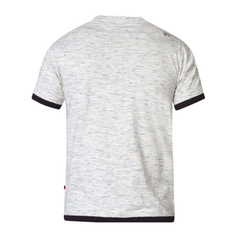 617d0340510efa A MERLIN-D555 T-shirt Biały Duże Rozmiary biggie.pl KS60172 Grey Reno